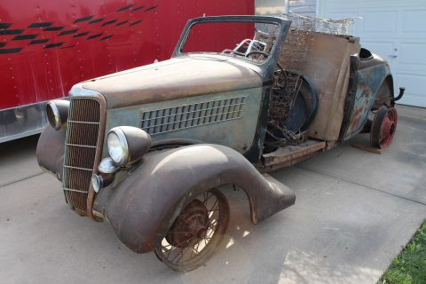 1935 Ford Cabriolet Rumble Seat Convertible for sale