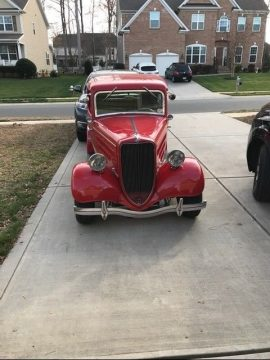 1936 Ford English Model Y Saloon Deluxe for sale