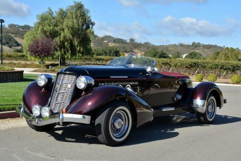 1936 Replica/kit Auburn in rare quality for sale