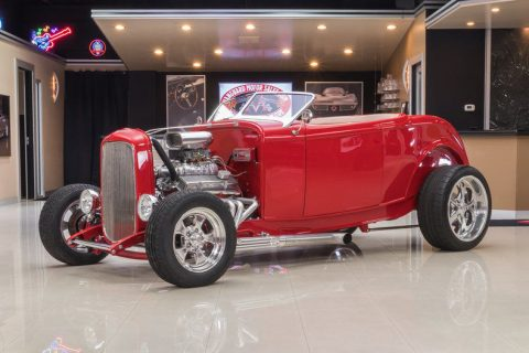 Gorgeous 1932 Ford Roadster Street Rod for sale