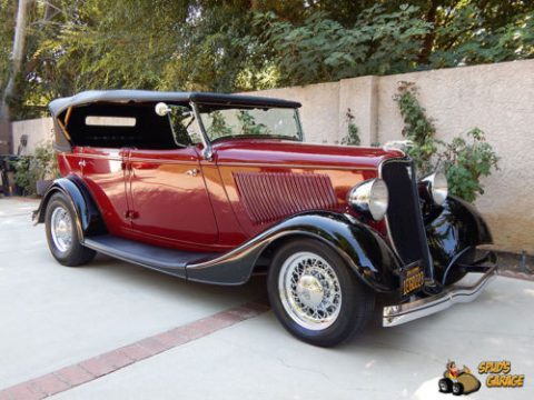 NICE 1933 Ford Phaeton Grand Touring Henry Steel Resto Rod for sale