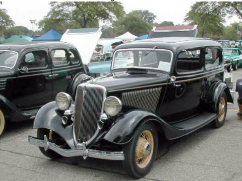 AMAZING 1934 Ford Deluxe Tudor for sale