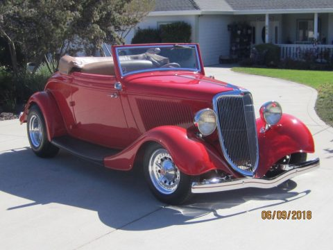 1934 Ford Cabriolet – Toby Keith owned and built this car for sale