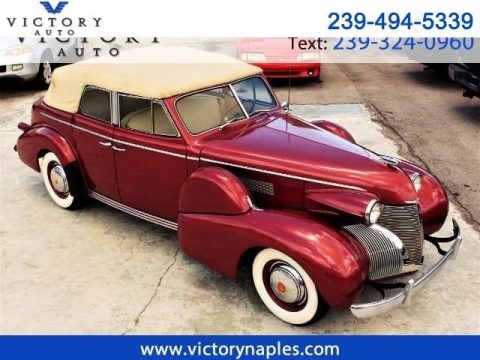 RARE 1939 Cadillac Series 61 Convertible Sedan for sale
