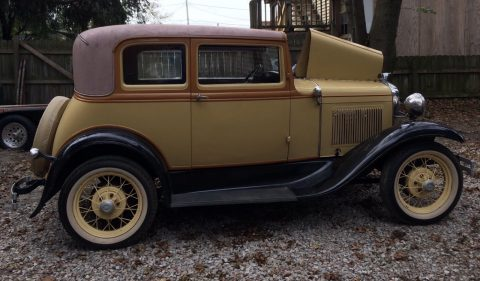 1931 Model A Victoria Tudor Sedan for sale