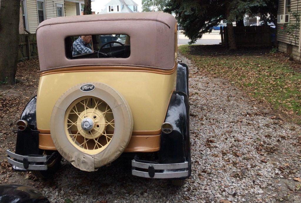 1931 Model A Victoria Tudor Sedan