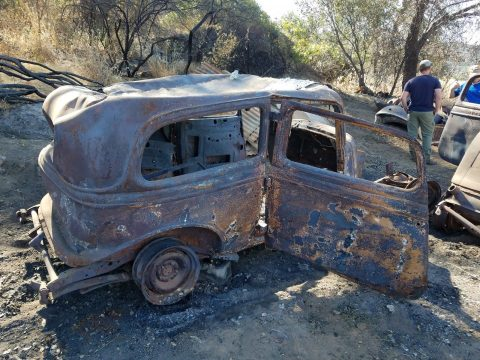 1934 Ford Sedan Rusty project car for sale