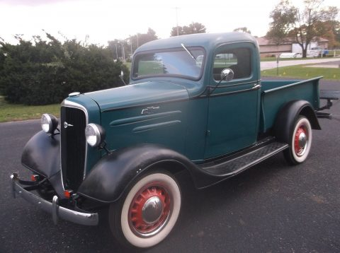 1936 Chevy Short Box, Extra Clean Rust Free Native Texas Truck for sale
