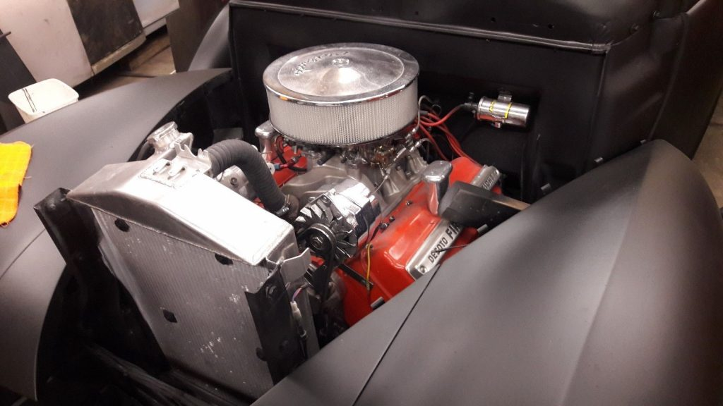 1939 Dodge Coupe Powered by a 1955 291 Desoto Hemi