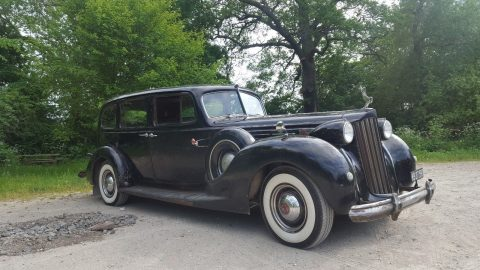 1939 Packard Twelve 1708 7 pers Touring Sedan Limo for sale