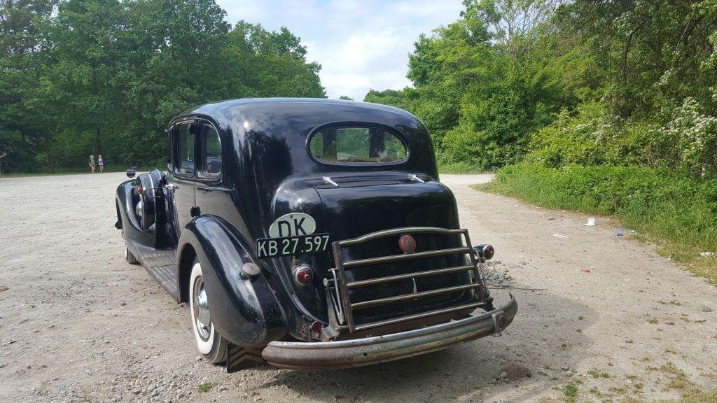 1939 Packard Twelve 1708 7 pers Touring Sedan Limo